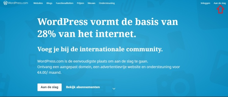 wordpress tutorial aan de slag