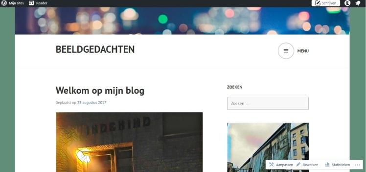 Wordpress eigen inhoud