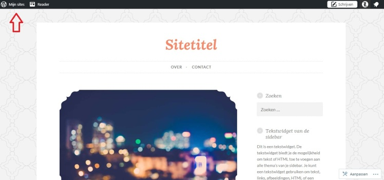 Wordpress mijn sites